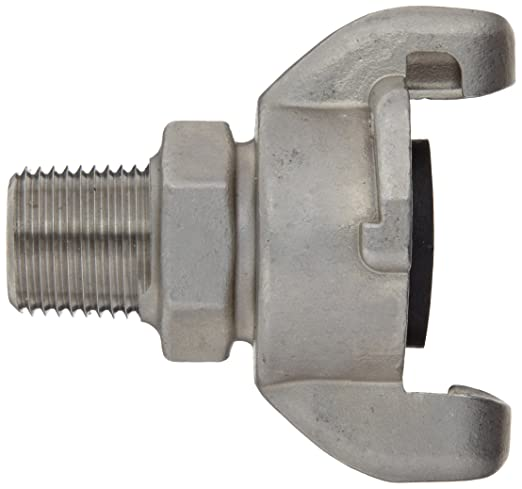 Box of 10 King Universal Coupling 1 NPT Male Dixon RAM12 316 Stainless Steel Air Fitting