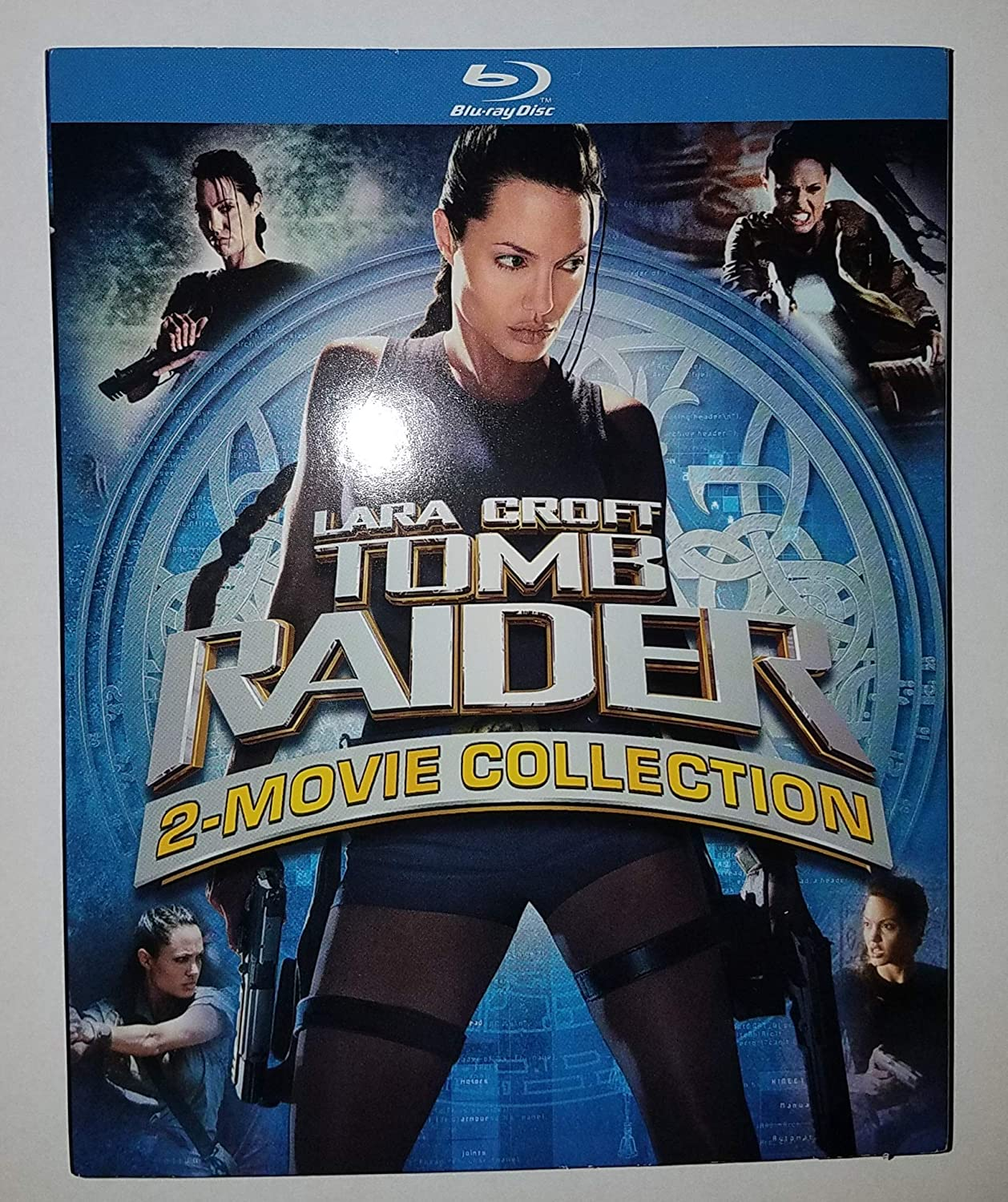 Amazon Com Lara Croft Tomb Raider 2 Movie Collection Blu Ray