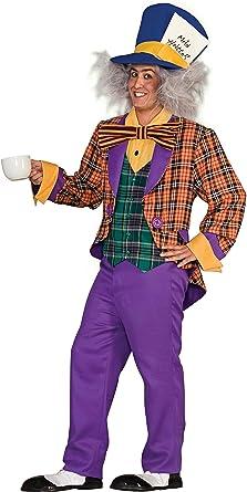 Amazon Com Forum Alice In Wonderland The Mad Hatter Costume Purple Orange One Size Clothing