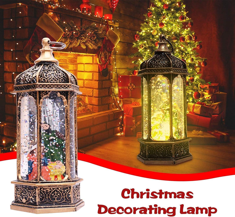 Weihnachtsdeko Wetterfest -Windlicht Leuchte Au/ßen Bodenlaterne Weihnachten Dekolaterne In- Und Outdoor A mit Licht- Tisch- Und H/ängelampe Yurgrt Weihnachtsbeleuchtung Schneemann