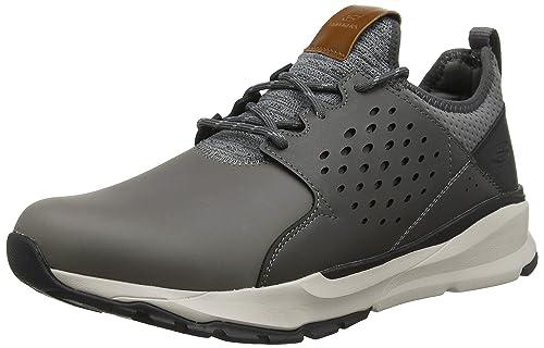 Skechers Relven-Hemson, Zapatillas para Hombre, Gris (Grey Gry), 39.5