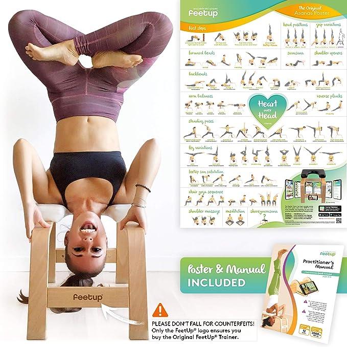FeeUp original banco invertido para yoga