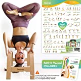 FeetUp Trainer (The Original) - Invert Safely & Easily. Get Fit. Relax. Turn Your Yoga Upside Down!