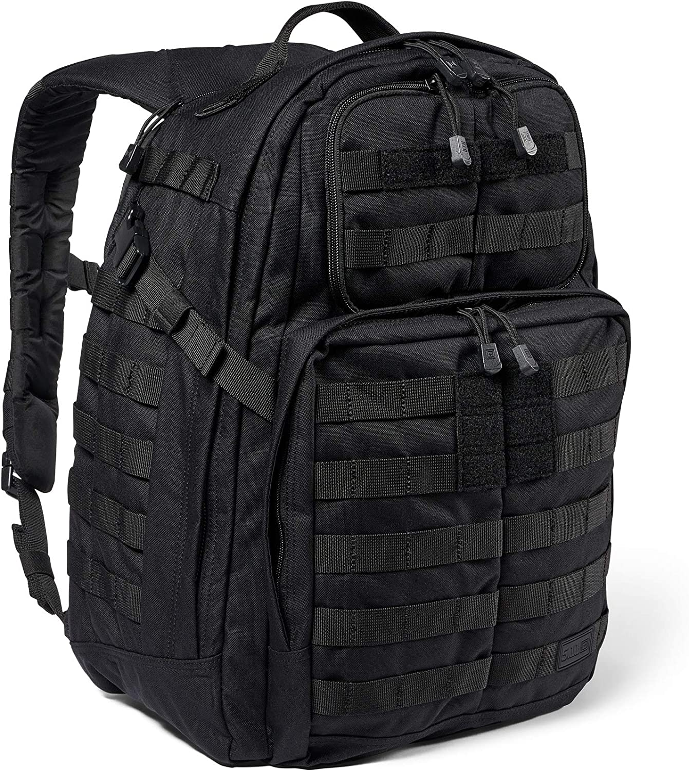 5.11 Tactical Backpack 'Rush 24 2.0 'Military Molle Pack, CCW and Laptop Compartment, 37 Liter, Medium, Style 56563 'Black