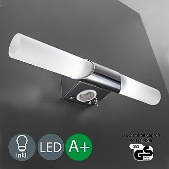 LED Applique | 2 flammes a 5W 470LM 3000K | lumière du miroir ...
