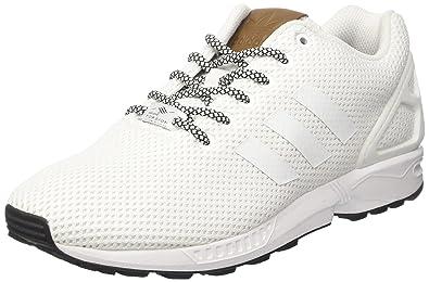 official photos 95710 7a510 adidas ZX Flux, Baskets Basses Homme, Blanc Footwear White, 36 EU