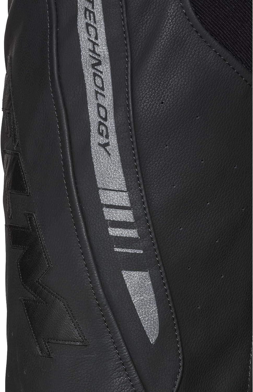 FLM Pantalon combin/é en Cuir Pantalon de Moto Pantalon de Combinaison en Cuir Sport 4.0 Hommes Toute lann/ée Sportler
