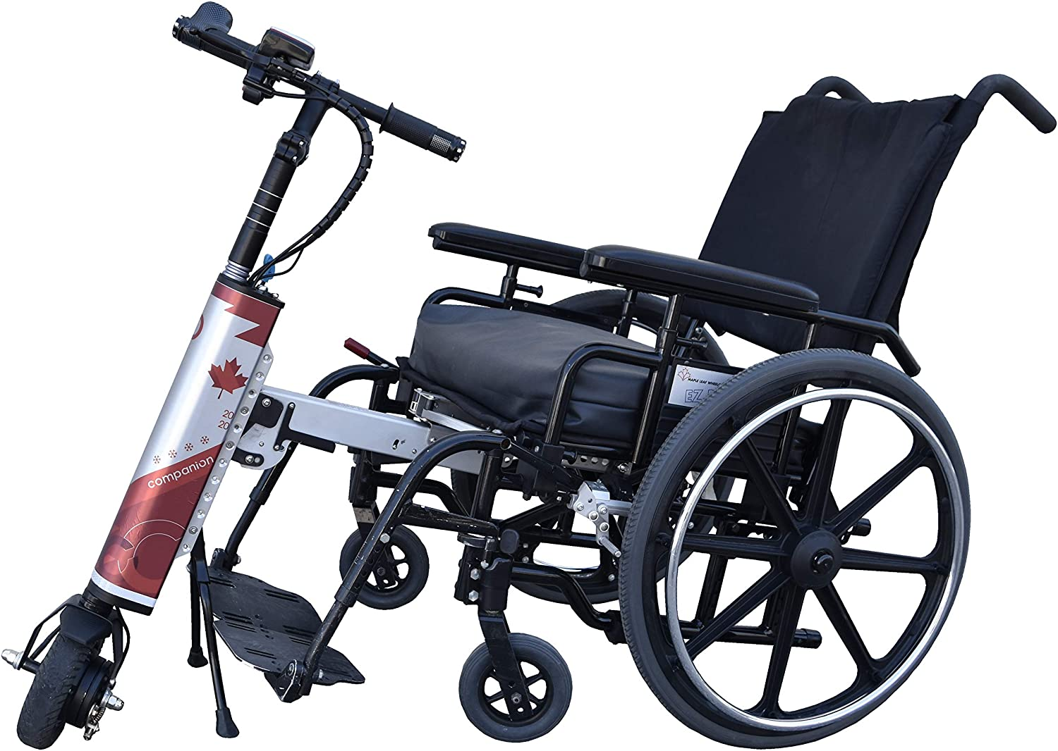 Amazon.com: Companion Power Assist for Folding Manual wheelchairs: Health &  Personal Care