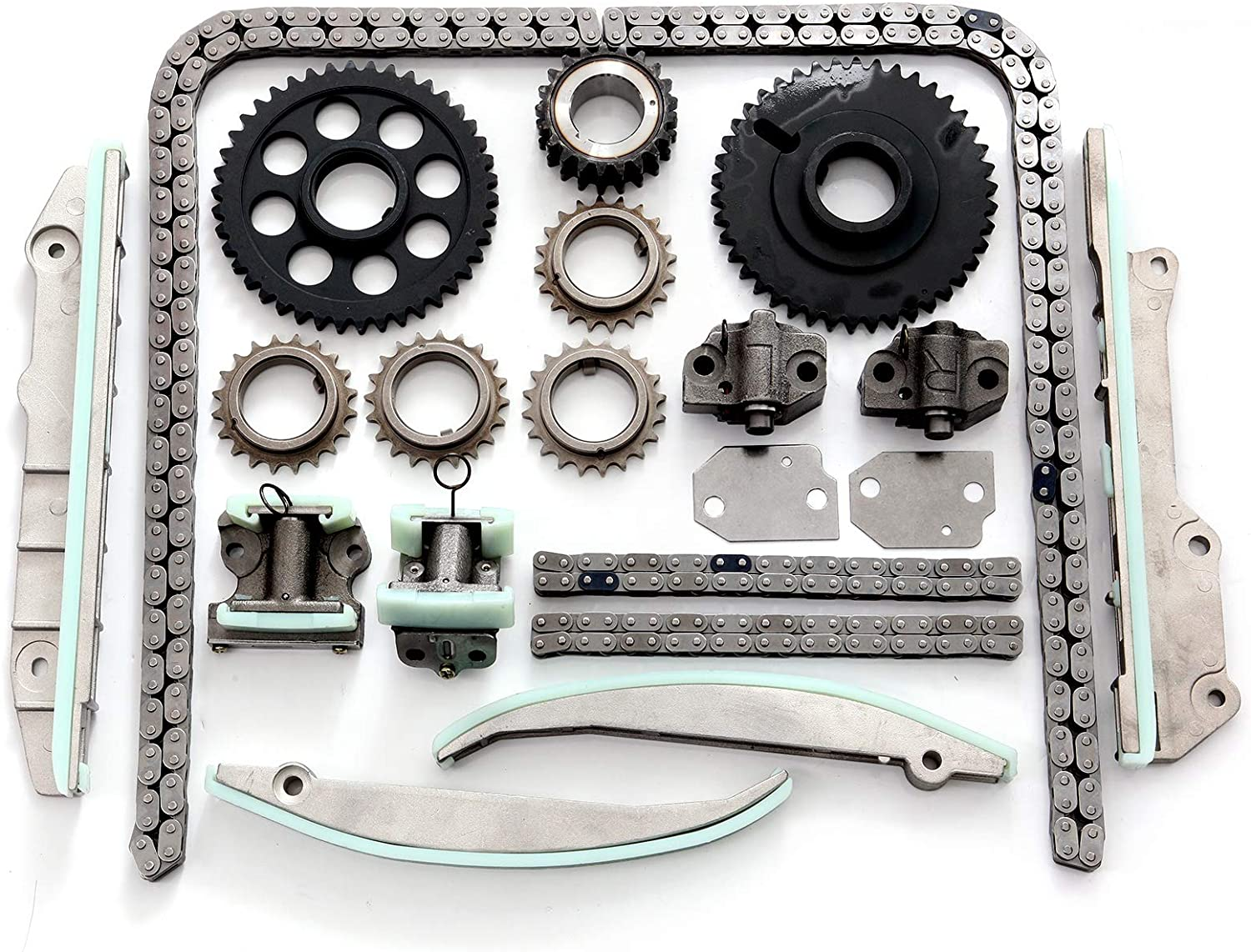 INEEDUP Timing Chain Kits Fit for 1998 Lincoln Mark VIII 4.6L 281Cu in V8 Gas DOHC Naturally Aspirated