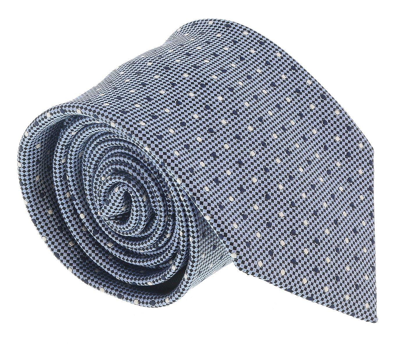 f7b73fce554a3 Ermenegildo Zegna Light Blue Polka Dot Tie for mens at Amazon Men's  Clothing store: