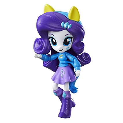 Amazon Com My Little Pony Equestria Girls Minis Rarity Toys Games