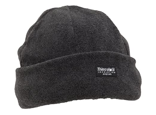 f389188e4a6 Mens Thinsulate Lined Polar Fleece Hat (One Size) (Navy)  Amazon.co.uk   Clothing