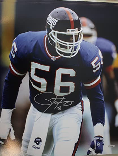 promo code 3b1ca d1e1c Autographed Lawrence Taylor New York Giants 16x20 Photo with ...