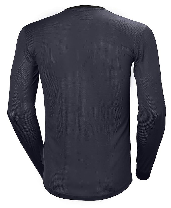 Helly Hansen HH LIFA Stripe Crew Camiseta Técnica, Hombre