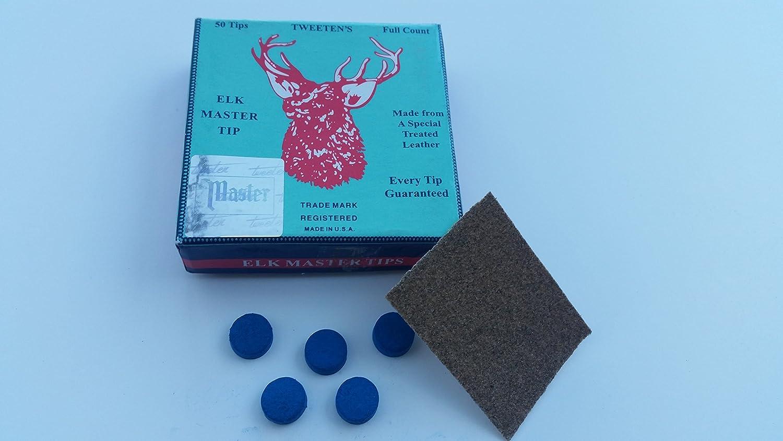 10mm Elk Master Tips for Snooker or Pool Cue