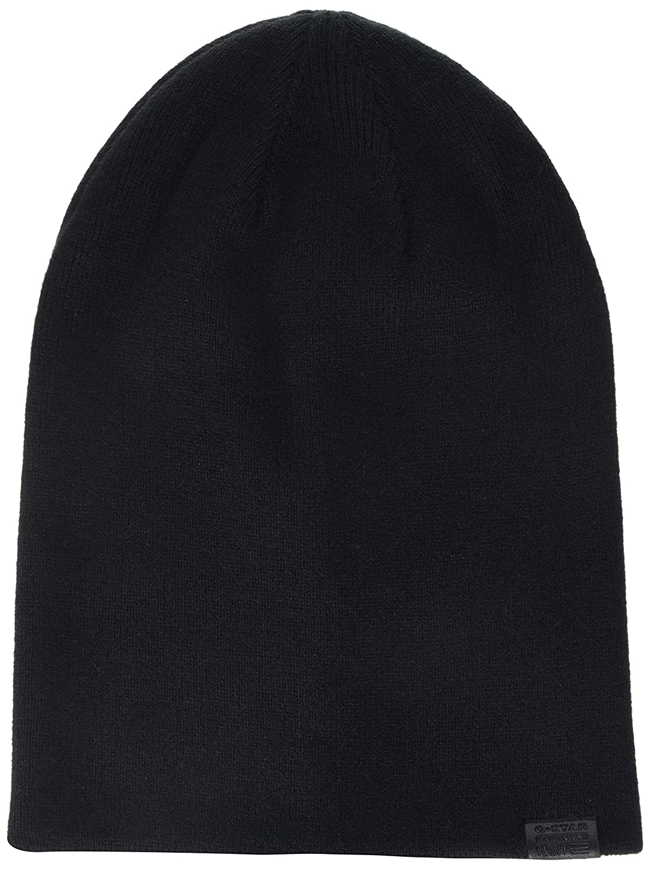 ddb19943c G-STAR RAW Men's Effo Long Beanie Black 990, One (Size: PC): Amazon ...