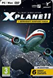 Xplane 11 Global and Aerosoft 6 Airports Collection PC DVD