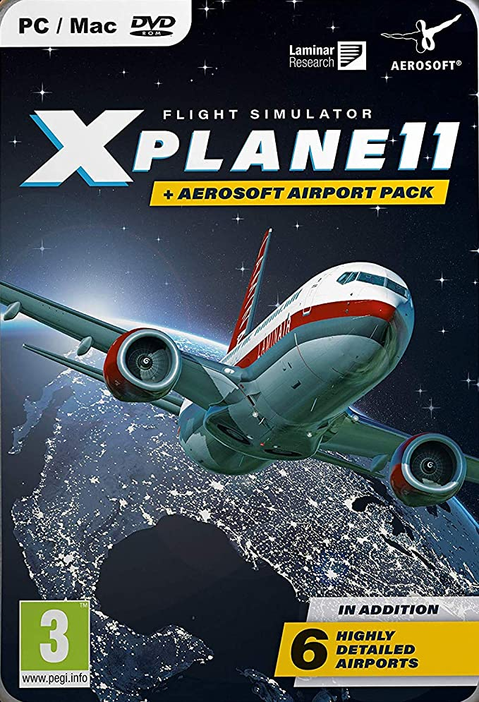 XPLANE 11 & AEROSOFT AIRPORT COLLECTION (Edición Exclusiva de Amazon)