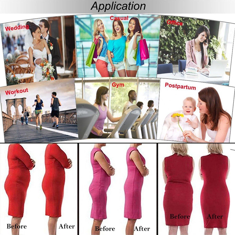 43ee3e4891 DILANNI Womens 3 Hooks Breathable Workout Waist Trainer Corset Waist Cincher  Apricot L - LYSB01ELJF1AO-SPRTSEQIP   Waist Cinchers   Clothing