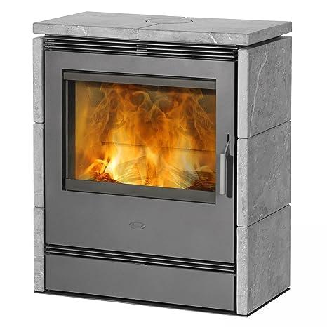Estufa de leña/duración de la marca horno Fire place ronky esteatita 9/10kW