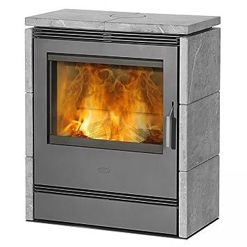 Sehr Kaminofen / Dauerbrandofen Fireplace Rönky Speckstein 9/10kW XX18