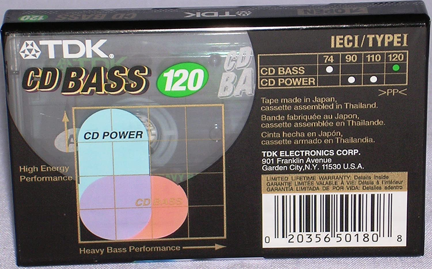 - TDK CD BASS Audio Cassette 120 Minutes - Amazon.com Music