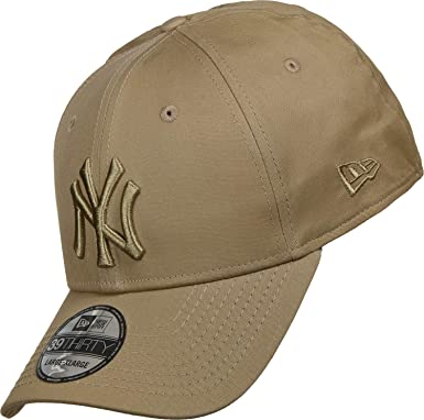 f25a38326f7c73 New Era Men Caps/Flexfitted Cap Tonal League Essential NY Yankees 39Thirty  Brown M/L: Amazon.co.uk: Clothing