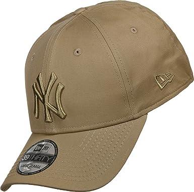 fc1a780b86b New Era Men Caps Flexfitted Cap Tonal League Essential NY Yankees 39Thirty  Brown M L  Amazon.co.uk  Clothing
