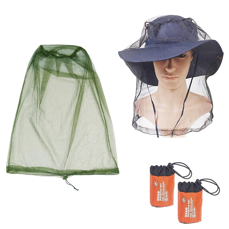 Draussen Schutz Camping Netz-Mesh-Kappe Gesichtsmaske Hut Angeln Moskito-Insekt