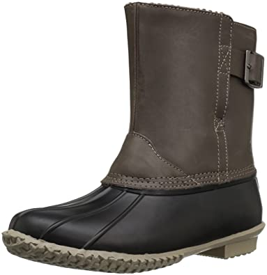 NAKOA Women's Waterproof Slip-On Duck Boot