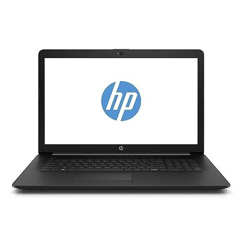 HP 17-by0204ng 43,9 cm (17,3 Zoll HD+) Notebook (Intel Core i3-7020U, 8GB RAM, 1TB HDD + 128GB SSD, Intel HD Grafik, Windows 10 Home) schwarz