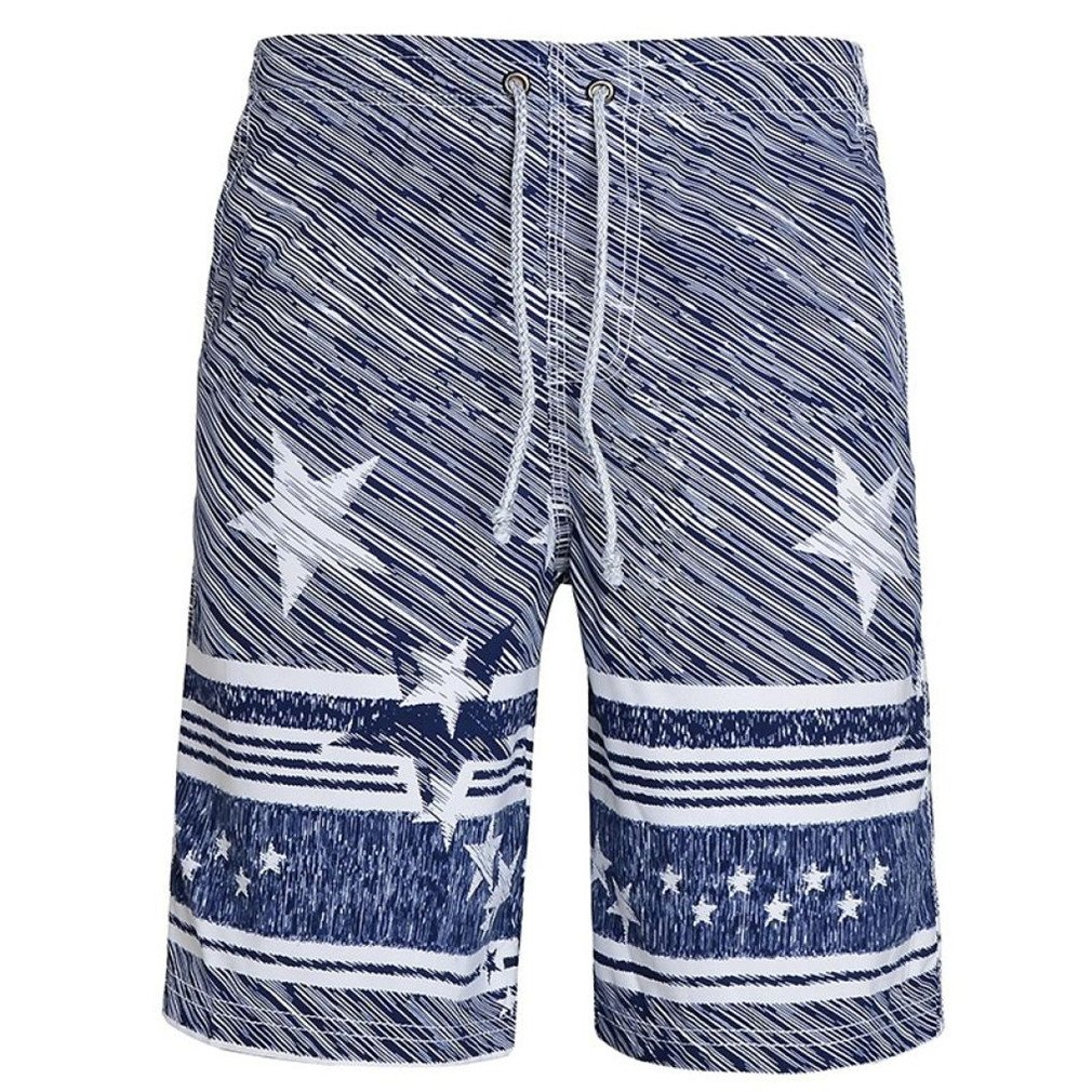 Men/'s Flamingo Printed Trunks Boxers Swim Briefs Surfboard Beach Swimsuit Shorts