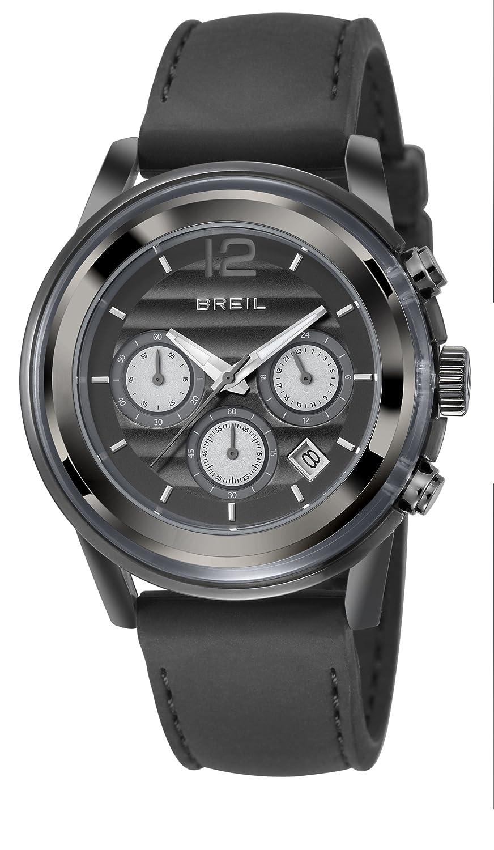 Breil TW1078 - Reloj analógico de Cuarzo para Hombre, Correa de Silicona Color Negro: BREIL: Amazon.es: Relojes