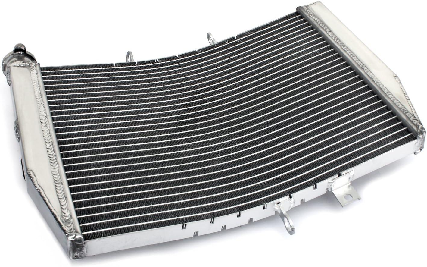 TARAZON Moto alluminio radiatori radiatore di raffreddamento motore per Kawasaki Ninja ZX10R ZX-10R 2006 2007
