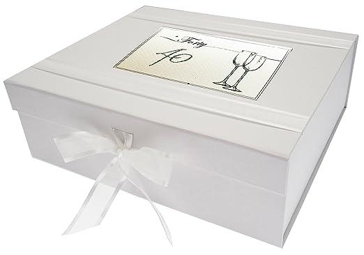 White Cotton Cards - Caja de Recuerdos, de los 40 años de ...