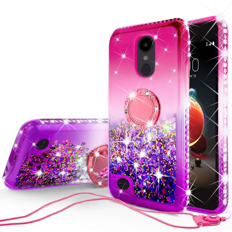 Galaxy Wireless Compatible for LG Aristo/Aristo 2/Aristo 3/Aristo 2 Plus/Tribute Empire/Tribute Dynasty/Rebel 2/Rebel 3/Rebel 4/Fortune/Fortune 2/Phoenix 3/Phoenix 4/Risio 2/Risio 3/Zone 4/Case - Pink