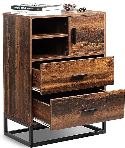 WLIVE 2 Drawer Dresser