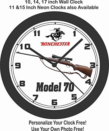Amazon Com Jims Classic Clocks Winchester Model 70 Bolt Action