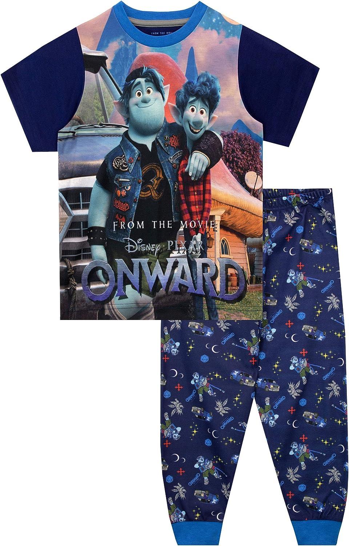 Disney Pijamas de Manga Corta para niños Onward Unidos