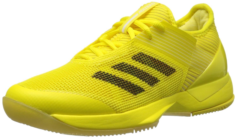 adidas Women's Adizero Ubersonic 3 W Tennis Shoe B01N9HC7CD 8 B(M) US|Bright Yellow/Black/White