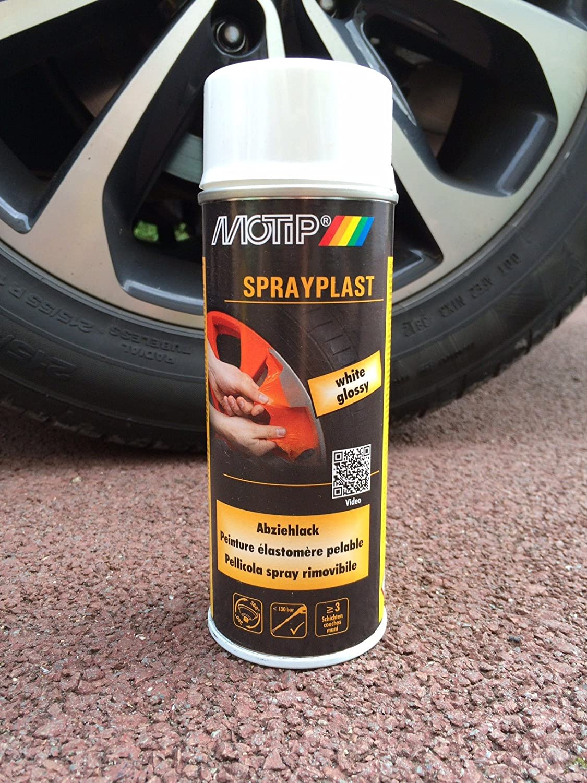 MOTIP SprayPlast Pellicola Spray Rimovibile NERO SEMI LUCIDO