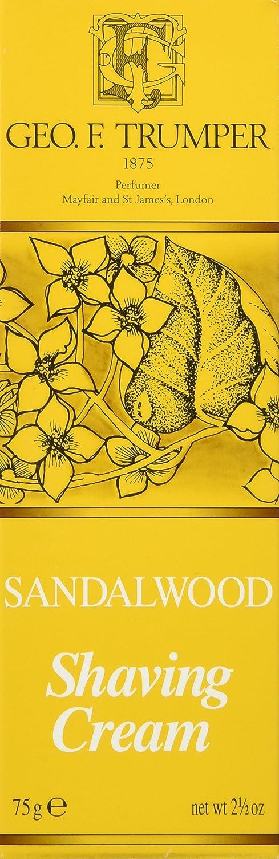 Geo F Trumper–Crema de Afeitado sándalo 200mm bañera W095223