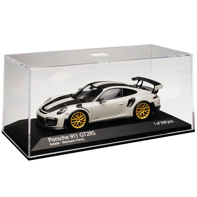 Minichamps Porsche 911 991 II GT2 RS Kreide Grau Weissach Paket Modell ab 2012 Ab Facelift 2015 limitiert 1 von 500 St/ück 1//43 Modell Auto mit individiuellem Wunschkennzeichen