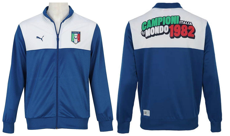 Hombre Puma FIGC Italia chaqueta de chándal parte superior ...