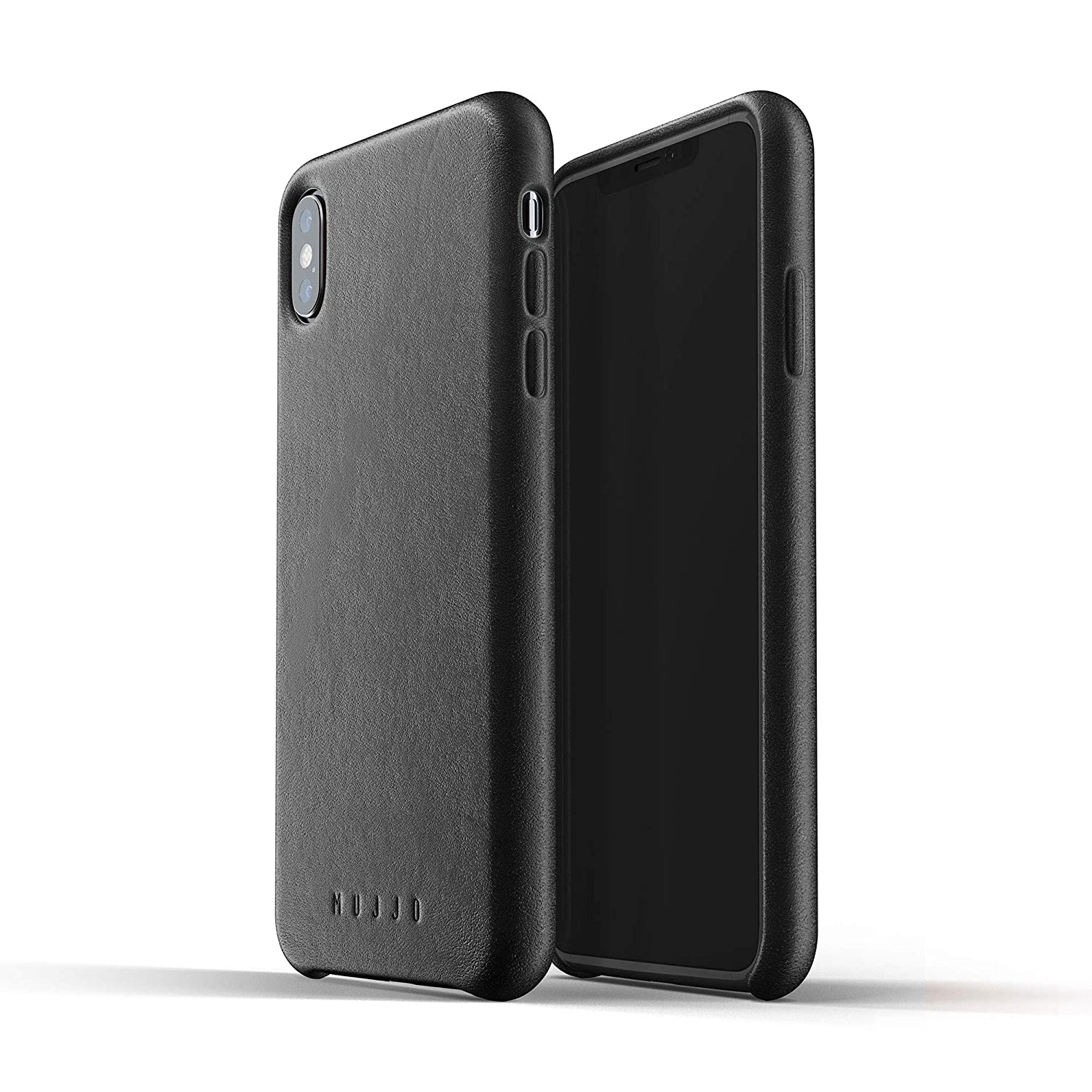 Funda Para iPhone Xs Max De Cuero Natural, Negro (xmp)