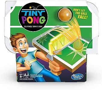 TINY Pong Solo Tenis de Mesa Niños Juego Electrónico De Mano Edades 8 Y Más: Amazon.es: Juguetes y juegos
