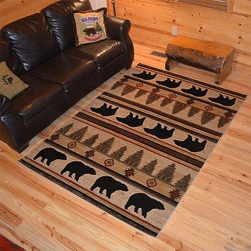 Editors' Choice: Rustic Lodge Living Room Rug