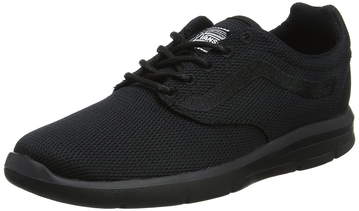 Vans Men's Reflective ISO 1.5 Sneakers B01M0PRMUE 11.5 B(M) US Women / 10 D(M) US|Mono Black