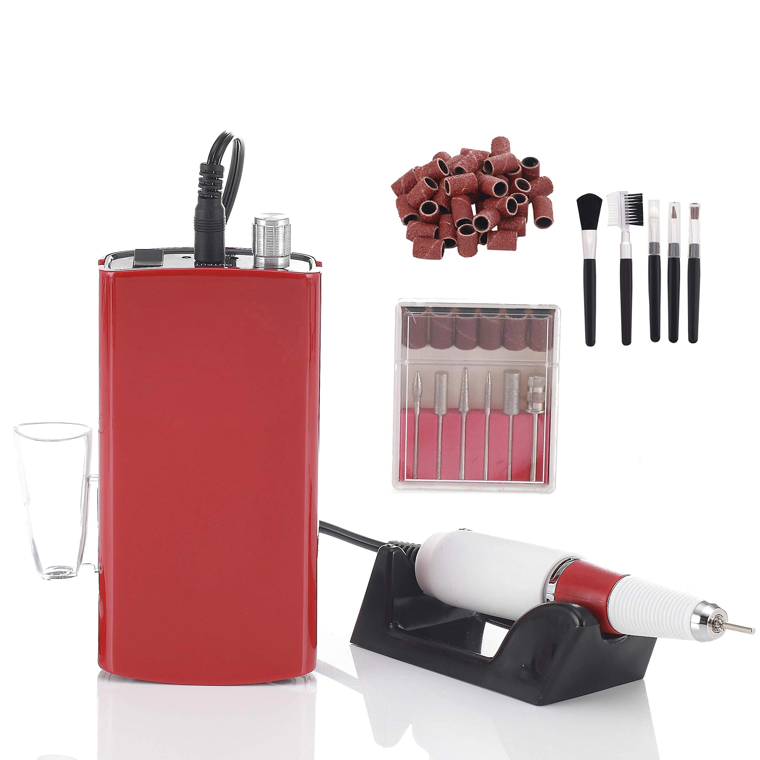 Miss Sweet Portable Nail Drill Machine Rechargeable Electric Nail File for Acrylic Nail RPM30000 (Y3
