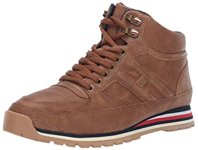 f6d7307f024c73 Tommy Hilfiger Men s Owens Sneaker Cognac 7 Medium US
